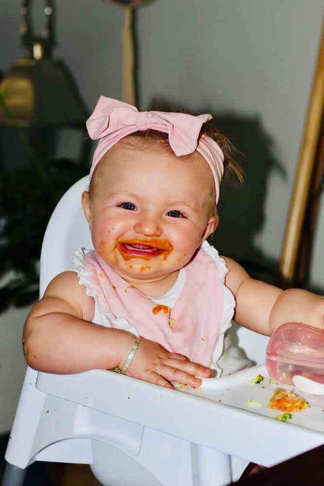 Baby led weaning ideas.